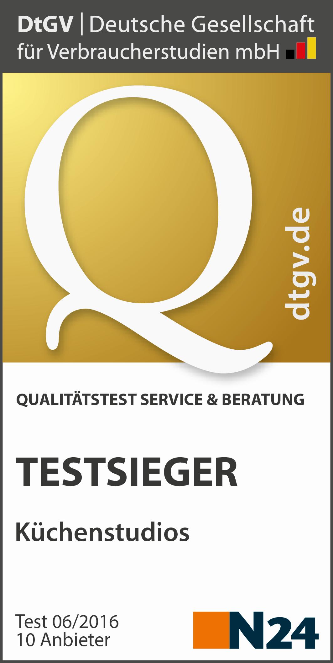 Küchenberatung test  Küchenstudios: Test von Service und Beratung | DtGV